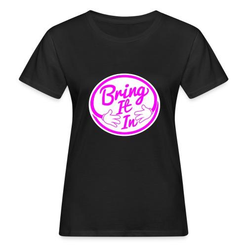 BII Pink font png - Women's Organic T-Shirt