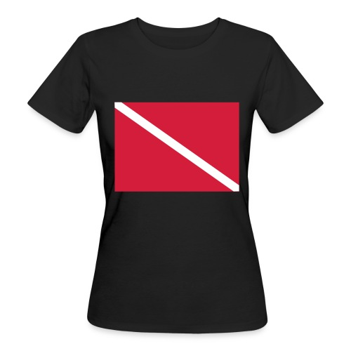 Diver Flag - Women's Organic T-Shirt