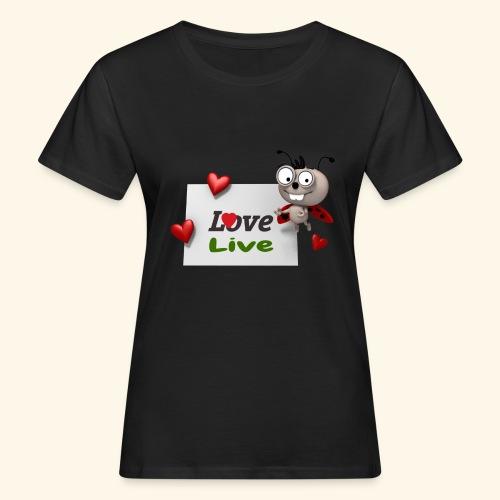 Draw_2017_05 - T-shirt ecologica da donna