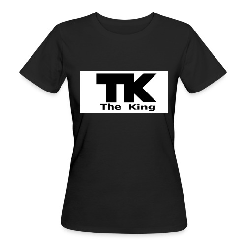 The King med ram - Ekologisk T-shirt dam