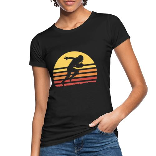 Football Sunset - Frauen Bio-T-Shirt