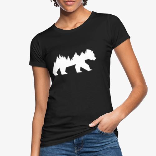 Bear Wald - Frauen Bio-T-Shirt