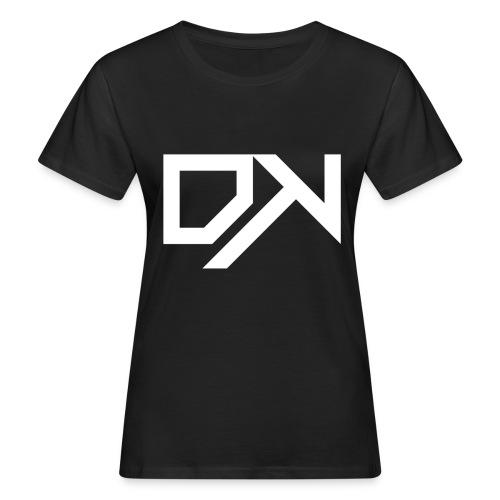 DewKee Logo Cap White - Women's Organic T-Shirt