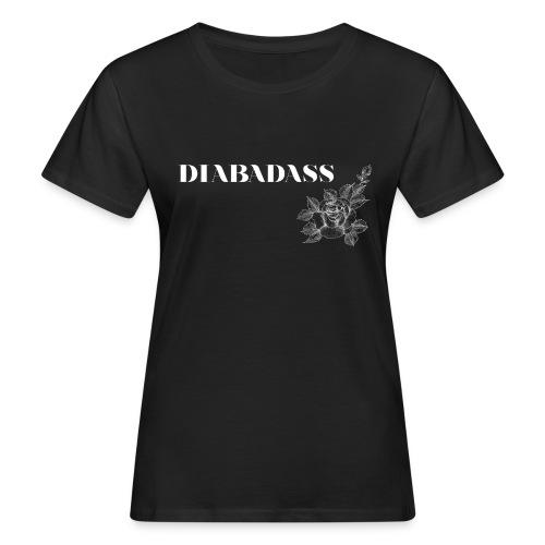 DIABADASS floral - T-shirt bio Femme