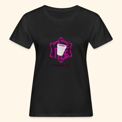 PURPLE FC - Camiseta ecológica mujer