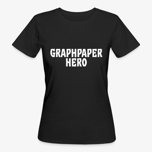 Graphpaper Hero - Women's Organic T-Shirt