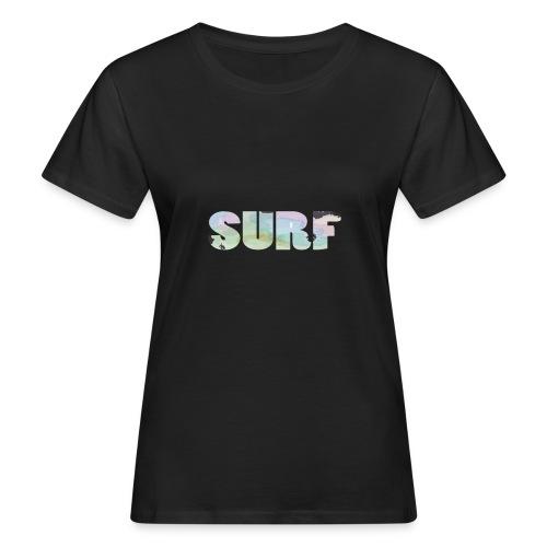 Surf summer beach T-shirt - Women's Organic T-Shirt