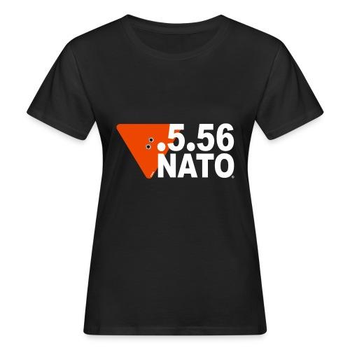 .5.56 NATO BLANC - T-shirt bio Femme