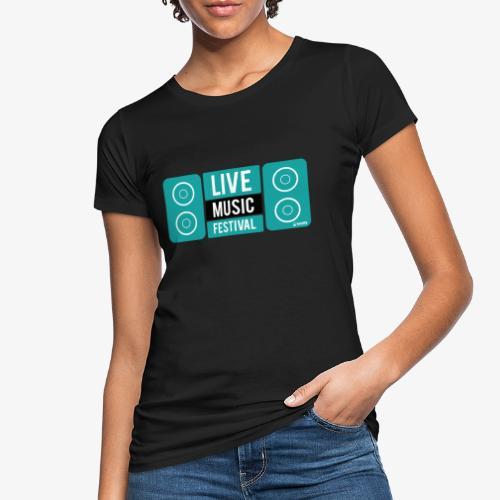 Amo la música - Camiseta ecológica mujer