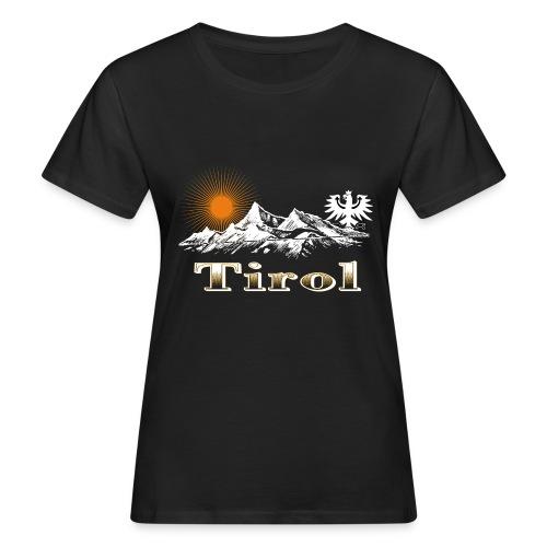 Tiroler Berge - Frauen Bio-T-Shirt
