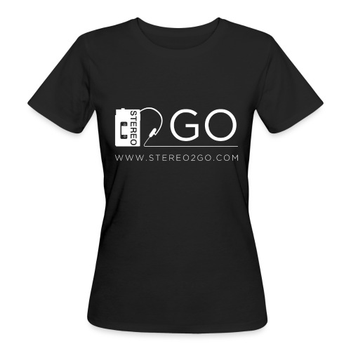 Stereo2Go website - Women's Organic T-Shirt
