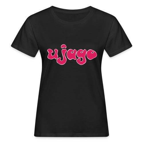 ujago magenta - Frauen Bio-T-Shirt