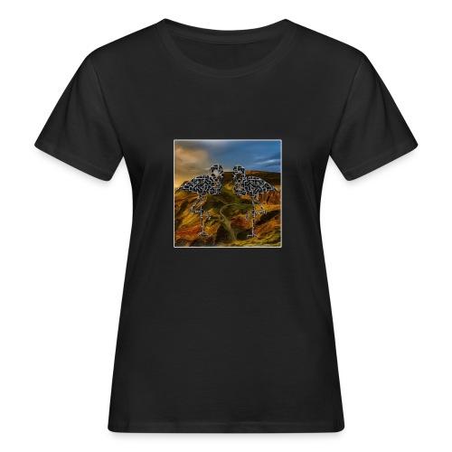 Flamingo Halluzination - Frauen Bio-T-Shirt