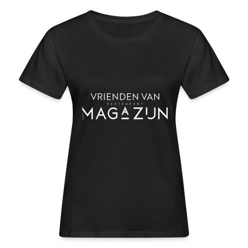 Vrienden van Restaurant het Magazijn - Vrouwen Bio-T-shirt