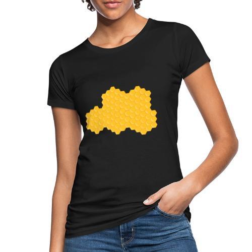 Bienenwabe - Frauen Bio-T-Shirt