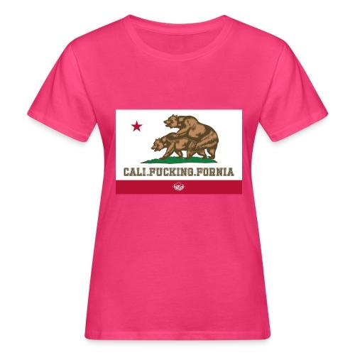 California, Californiano, Fuck, Orso - T-shirt ecologica da donna