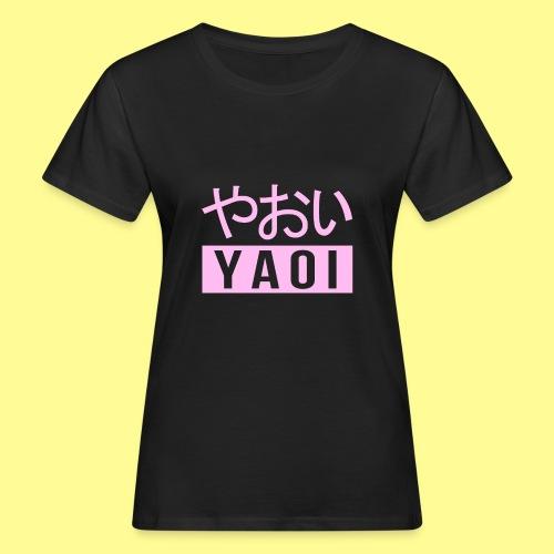 Pink Yaoi やおい - T-shirt ecologica da donna
