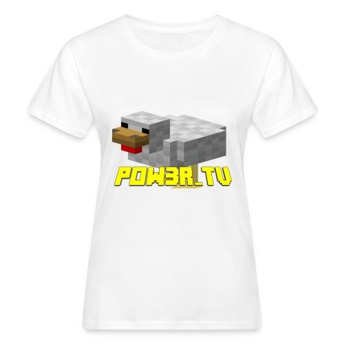 POW3R-IMMAGINE - T-shirt ecologica da donna