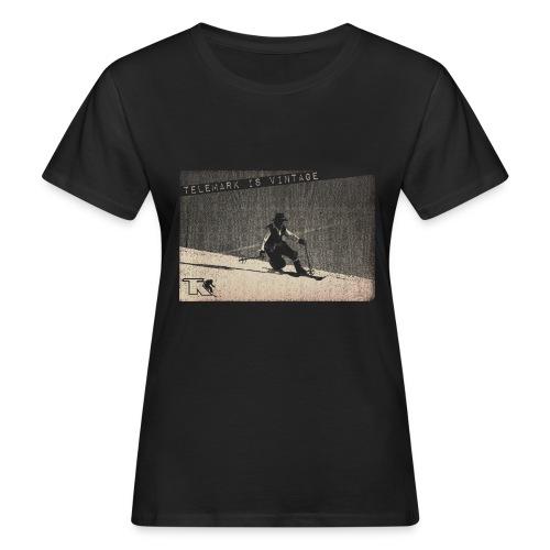 2017 Telemark Vintage Jean Louis - T-shirt bio Femme