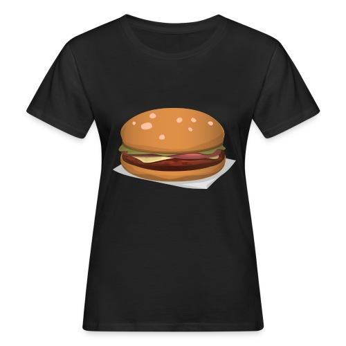 hamburger-576419 - T-shirt ecologica da donna