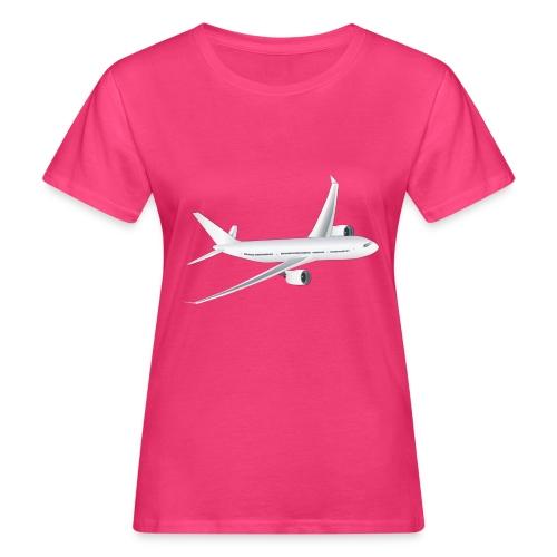 Flugzeug - Frauen Bio-T-Shirt