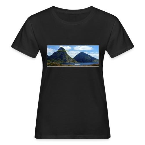 believe in yourself - Women's Organic T-Shirt