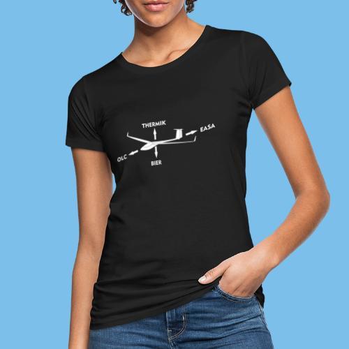 lustiger Segelflieger Spruch Pilot Geschenkidee - Frauen Bio-T-Shirt