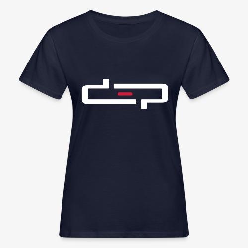 deplogo1neg red - Økologisk T-skjorte for kvinner
