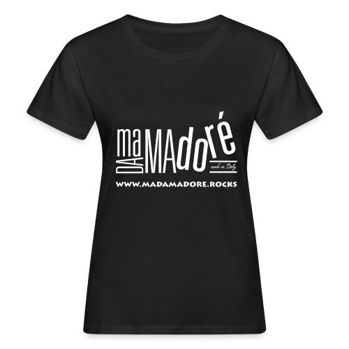 T-Shirt Premium - Uomo - Logo Bianco S + Sito - T-shirt ecologica da donna