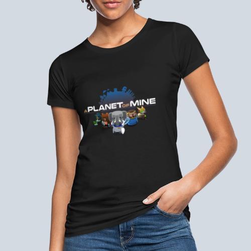 logo planetofmine dark HD - T-shirt bio Femme