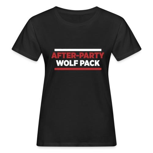 OFFICIAL AFTER-PARTY WOLFPACK MERCH - Women's Organic T-Shirt
