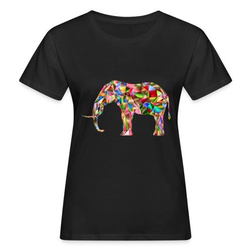 Gestandener Elefant - Frauen Bio-T-Shirt
