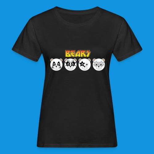 Kiss Bears.png - Women's Organic T-Shirt