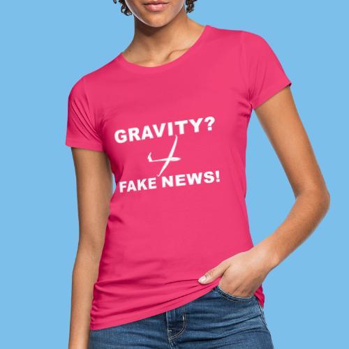 Nachrichten Segelflieger Segelflugzeug lustig - Frauen Bio-T-Shirt