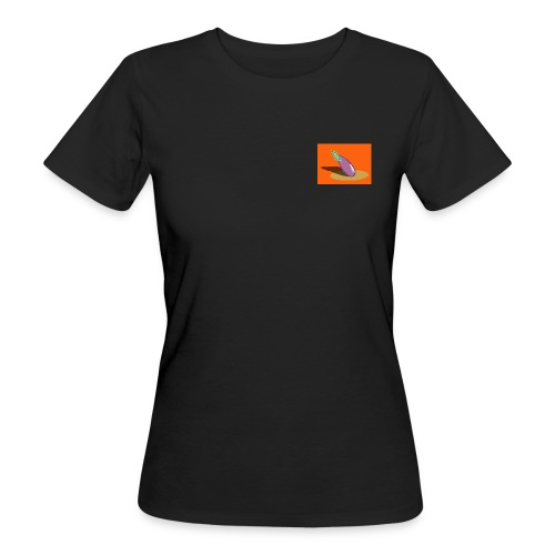 Orange Aubergine - Frauen Bio-T-Shirt