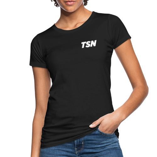 TSN Vector | White - T-shirt ecologica da donna