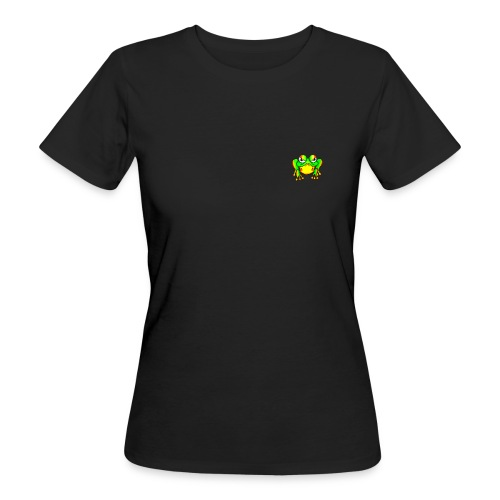 Angry Frog - T-shirt bio Femme