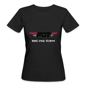 FOT Gross 01 roter HG - Frauen Bio-T-Shirt