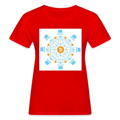 Blockchain - Naisten luonnonmukainen t-paita
