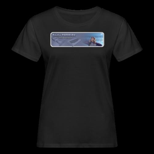Radio PARALAX Classic-Logo - Frauen Bio-T-Shirt