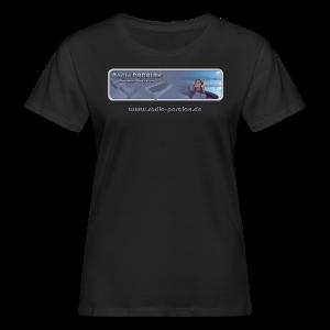 Radio PARALAX Classic-Logo mit Webadresse - Frauen Bio-T-Shirt