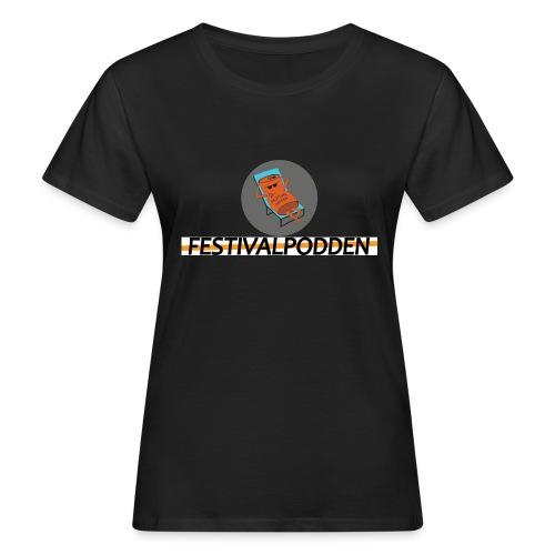 Festivalpodden - Loggorna - Ekologisk T-shirt dam