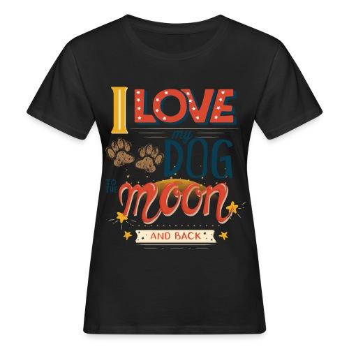 Moon Dog Light - Ekologisk T-shirt dam