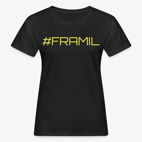 #framil - Naisten luonnonmukainen t-paita