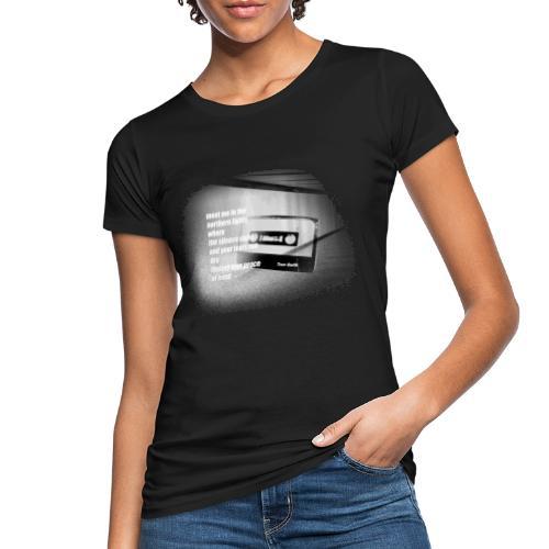 NORTHERN LIGHTS LYRICS PRINT - Frauen Bio-T-Shirt