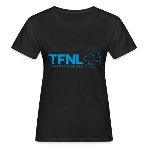 TFNL Blue Logo Tee - Women's Organic T-Shirt