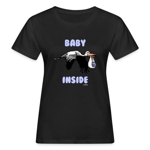 Babyinside - Boy - Frauen Bio-T-Shirt