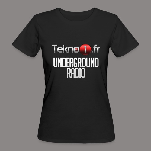 logo tekno1 2000x2000 - T-shirt bio Femme