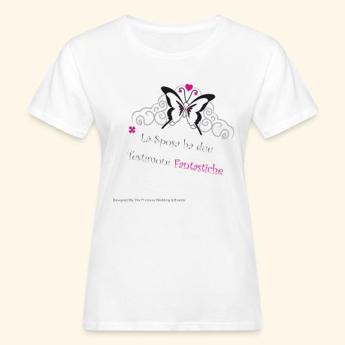 Testimoni Nozze - T-shirt ecologica da donna