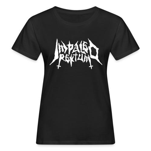 Impaled Rektum -logo shirt - Naisten luonnonmukainen t-paita